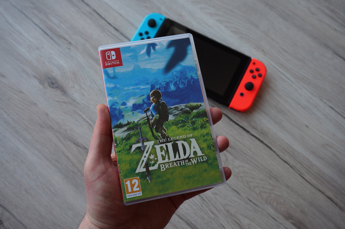 breath of the wild making of Nintendo Switch Wii U zelda