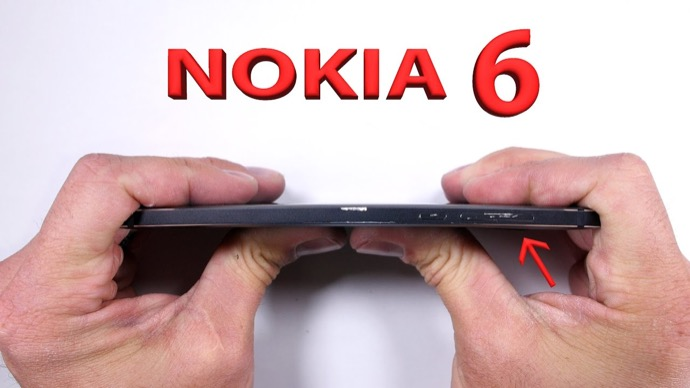 Android Nokia Smartphone test Video