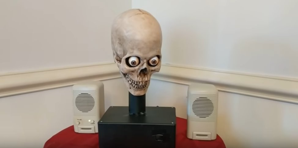 Ahmed alexa amazon Android Echo Totenkopf Yorick