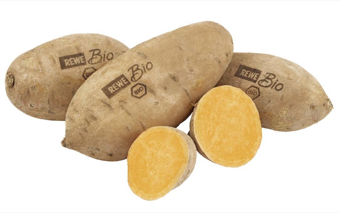Statt Plastikverpackungen: REWE verpasst Obst und Gemüse ein Laser-Logo
