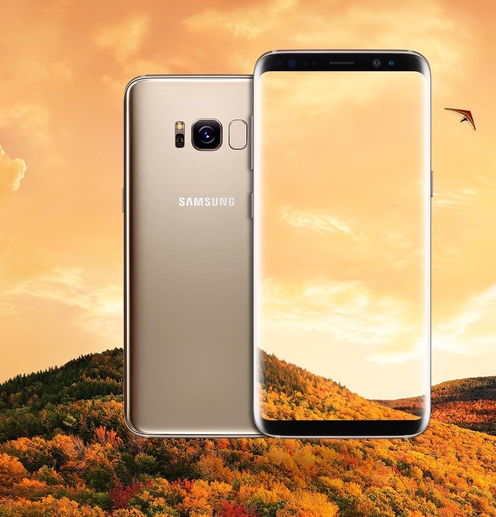 Android galaxy Gold Leak s8 Samsung