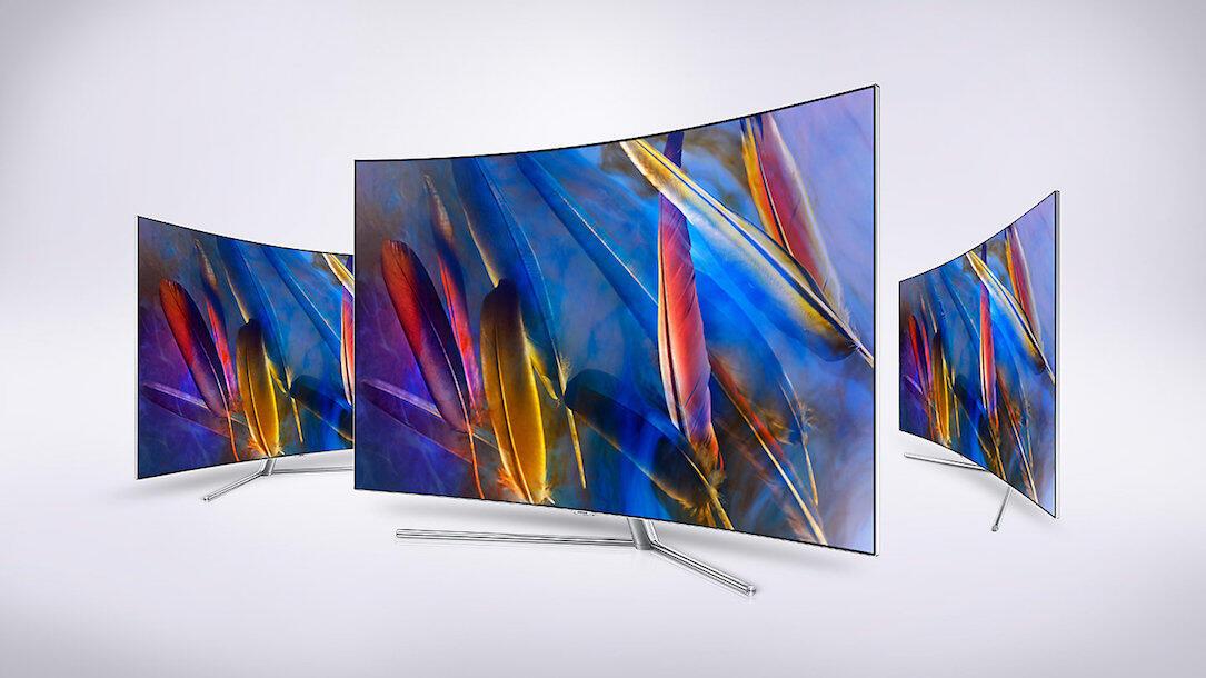 curved Samsung TV Zukunft