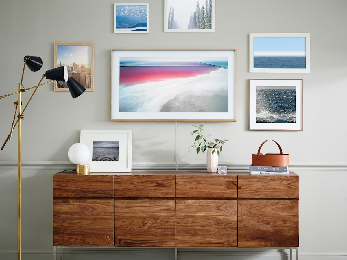 bilderrahmen Samsung the frame TV
