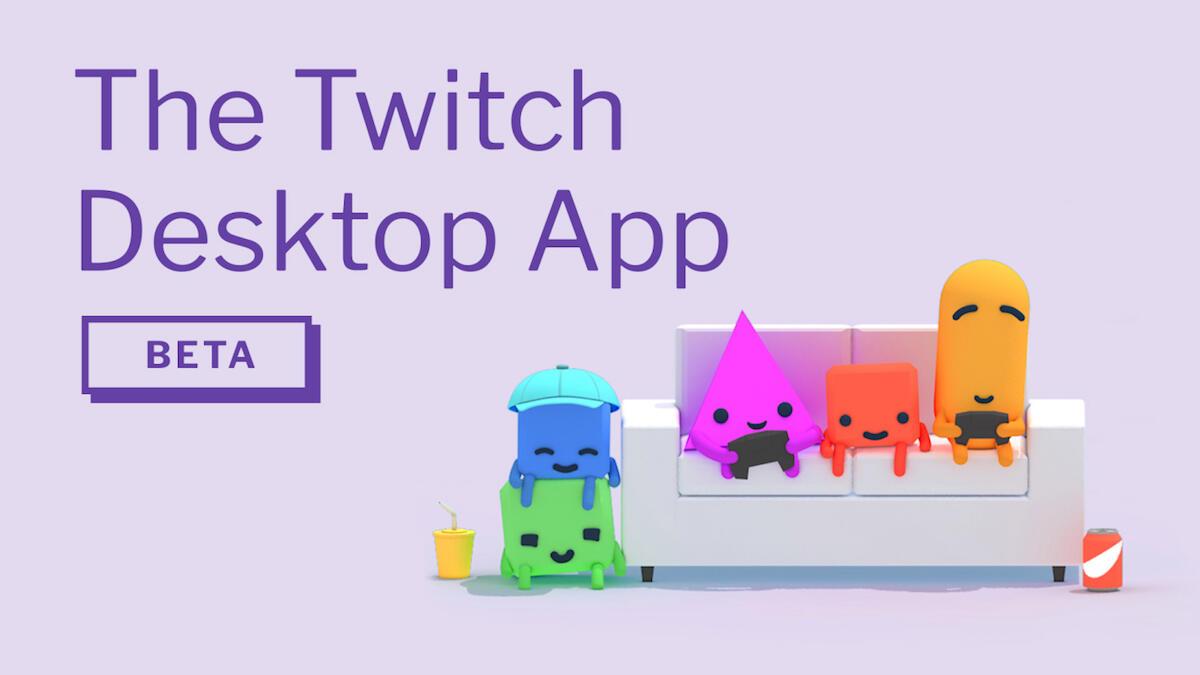 app beta Spiele streaming twitch Windows