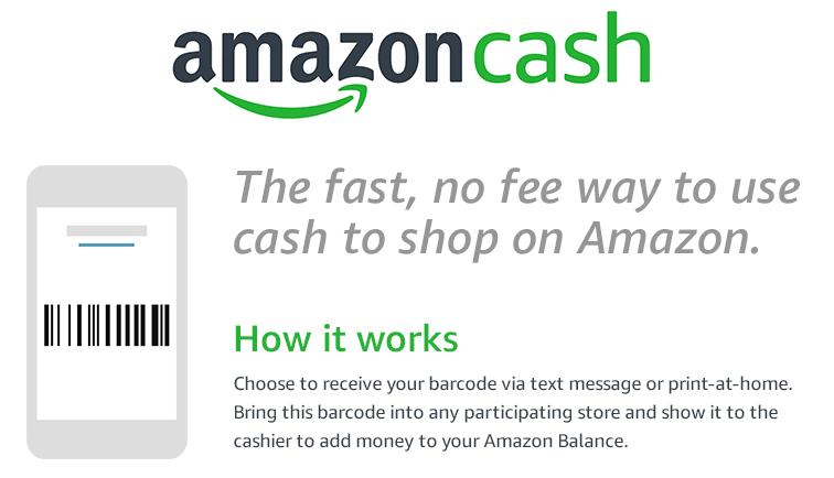 amazon cash handel