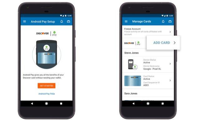 Android fintech Google pay
