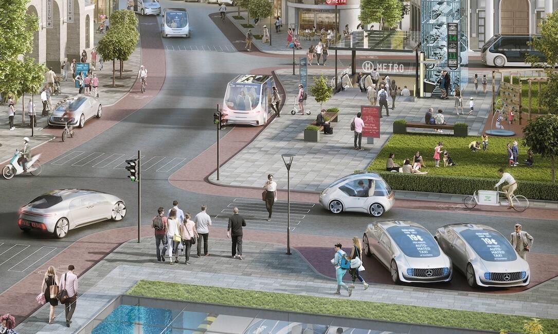 auto autonom bosch Daimler fahren Zukunft