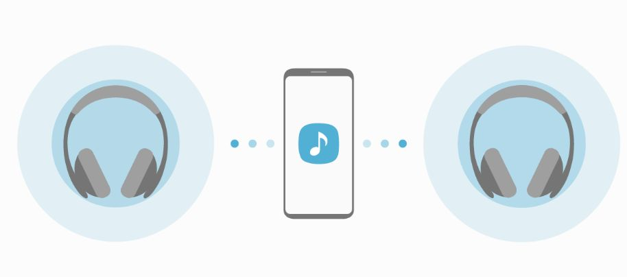 Android bluetooth 5.0 Dual-Audio galaxy s8 Samsung