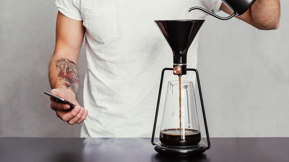 aff Coffee Crowdfunding filter Filterkaffee Gina Goat Indiegogo kaffee Kaffeemaschine kickstarter Story