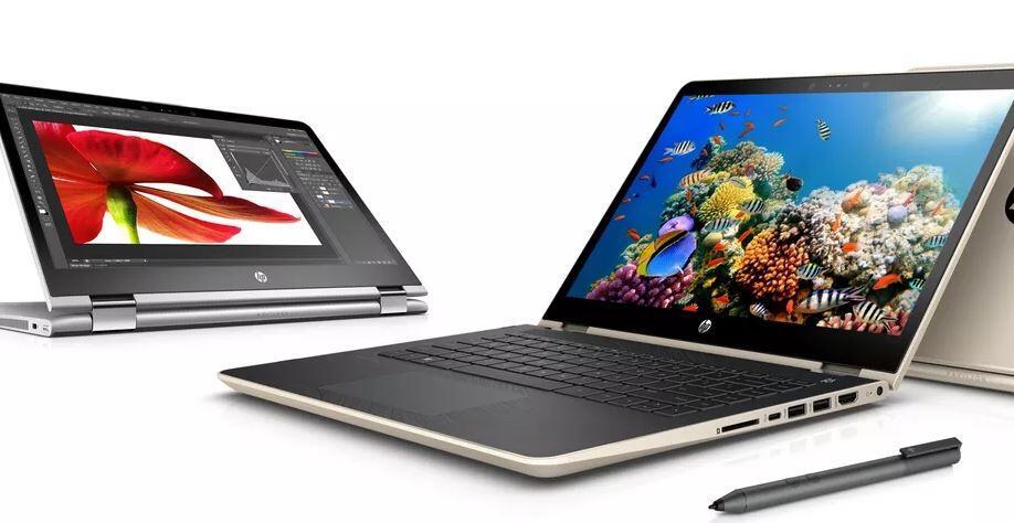 Convertible HP Notebook Pavilion x360