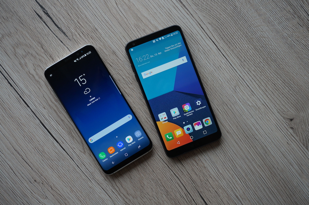 1 2018 Android g7 galaxy s9 januar LG Samsung
