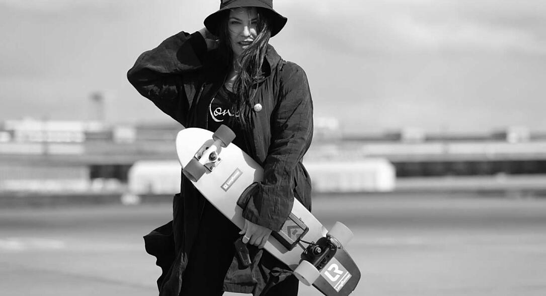 Android Crowdfunding Gadget kickstarter LongRunner Skateboard