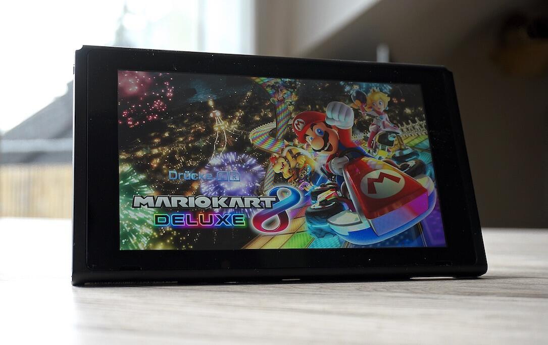 1 aff mario kart mario kart 8 deluxe Nintendo review Switch test yt