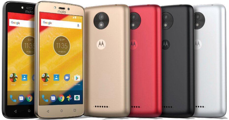 Motorola plant angeblich Einsteigermodelle Moto C und C Plus