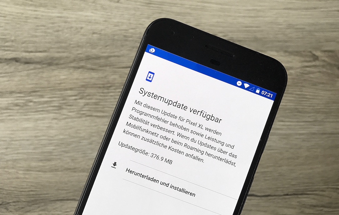1 Android android 7.2.1 download Firmware Google nexus Nougat pixel Update was ist neu
