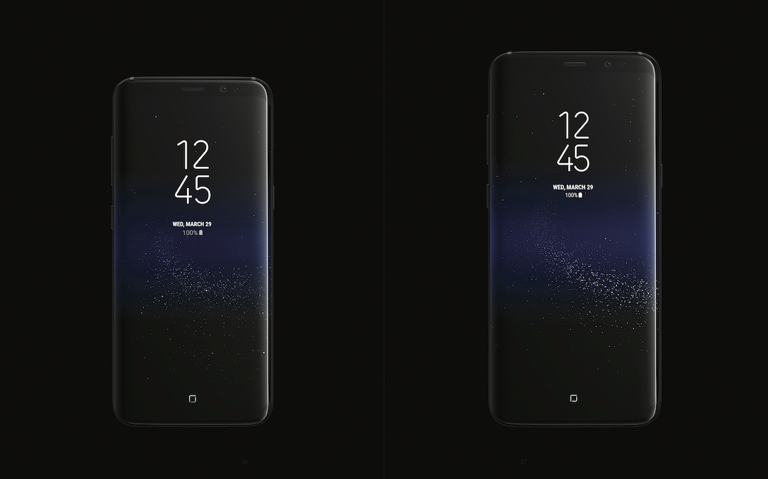 Android buch design galaxy s8 Samsung