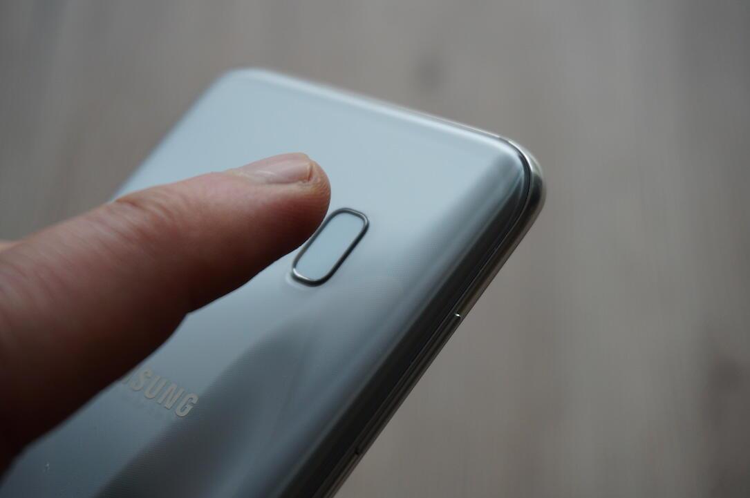 Android Display fingerabdruck front galaxy s9 Samsung sensor