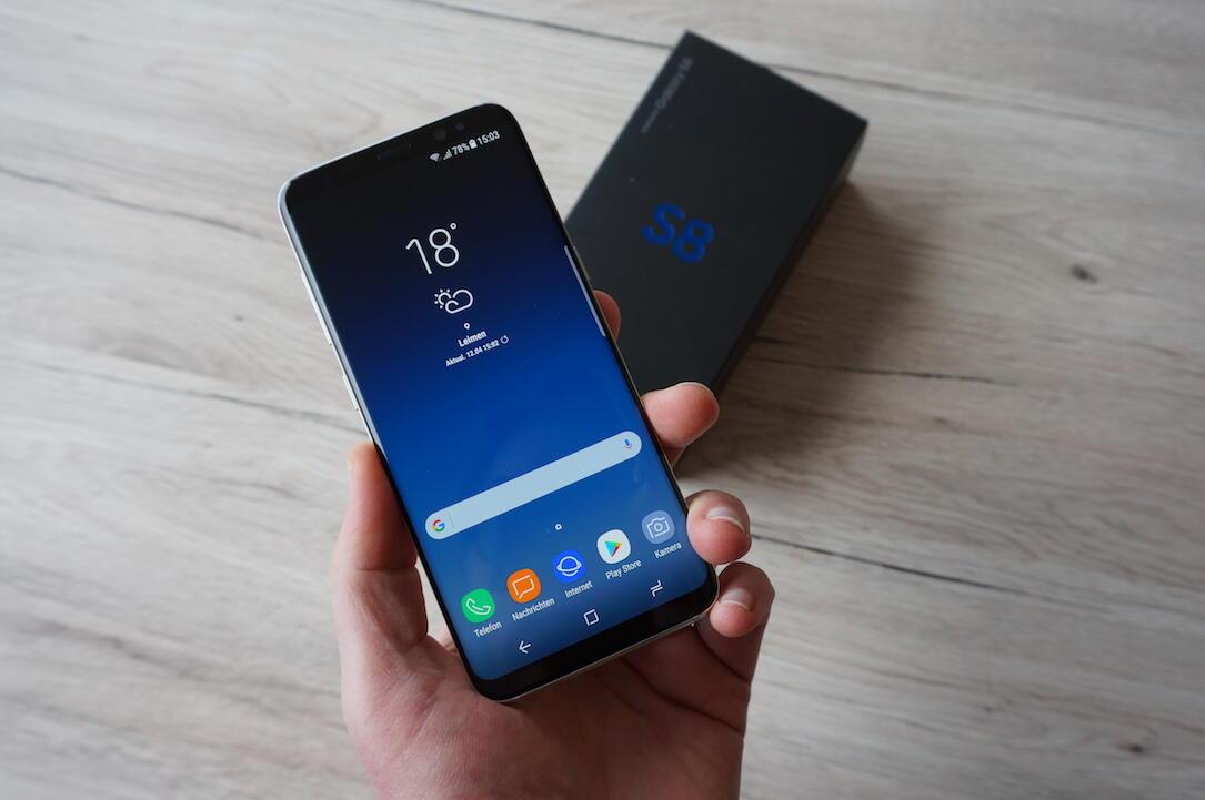 1 aff Android ausgepackt eindruck fazit galaxy s8 Samsung Unboxing yt