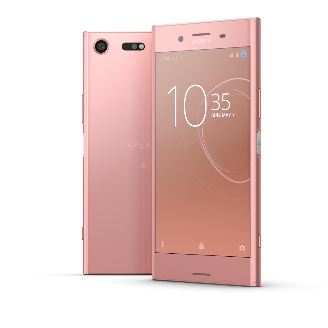 aff Android farbe pink Sony xperia xz premium