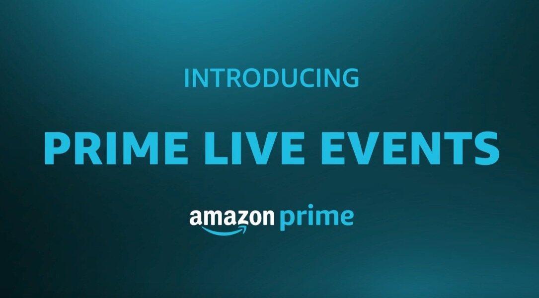 amazon Konzert Prime Live Events