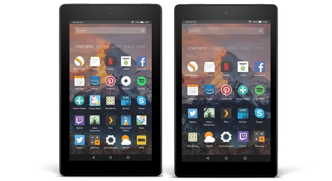 1 aff amazon Android Fire 7 Fire 8 HD