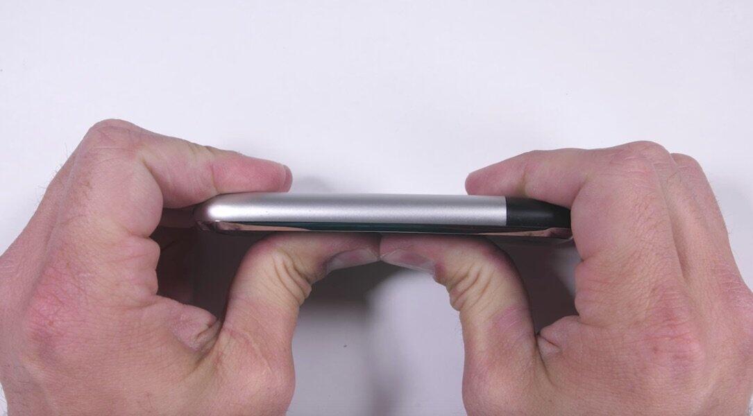 Apple härtetest iOS iphone