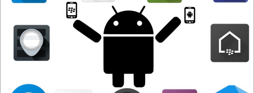 Android Apps blackberry manager