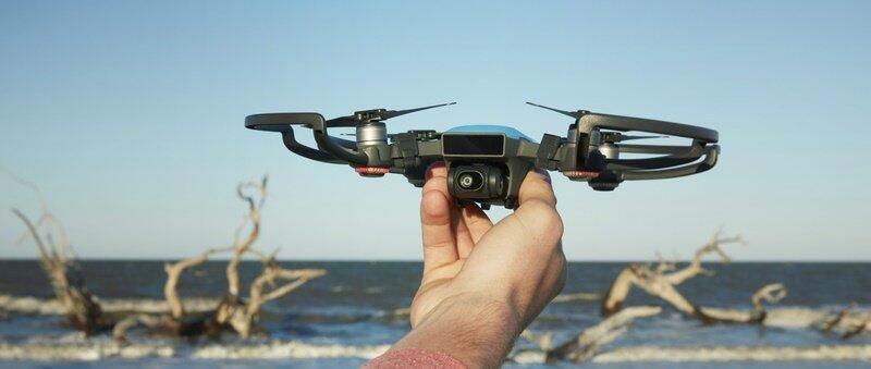 aff DJI dji spark drohne Quadrocopter