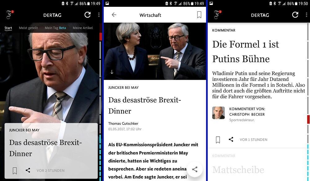 Android app Apple Nachrichten News zeitung