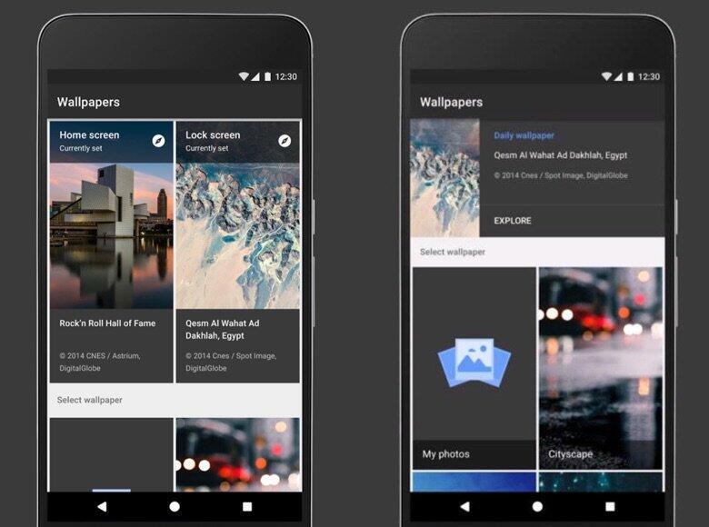Android Google hintergrund Wallpaper
