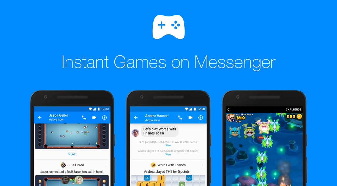 facebook Facebook Instant Games