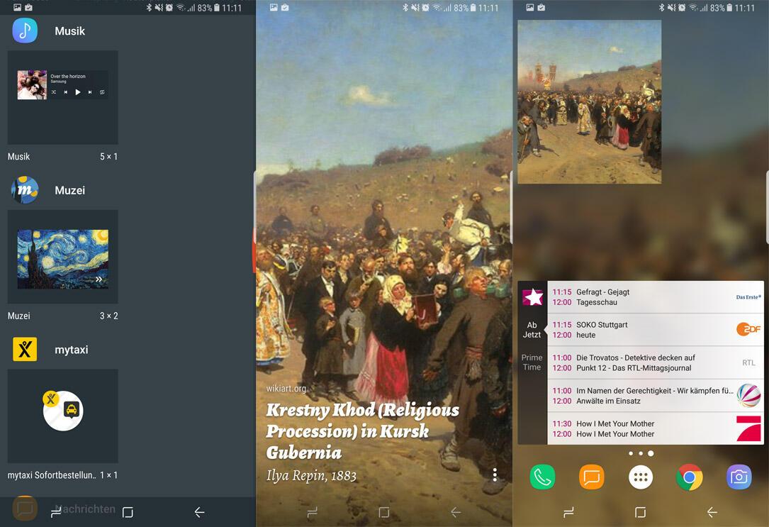 Android live wallpaper widget