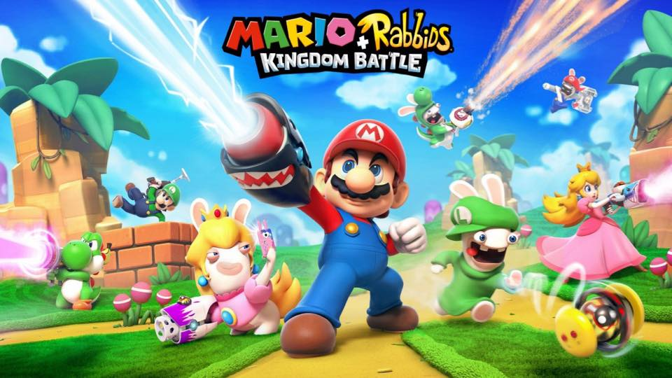 1 Mario + Rabbids Kingdom Battle Nintendo Switch ubisoft