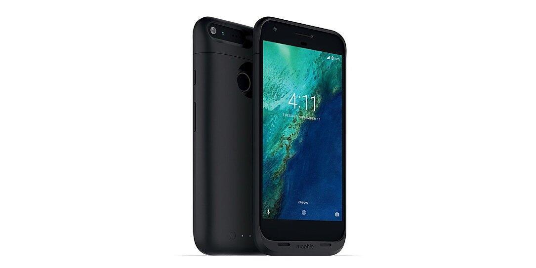 Akku-Case Google Pixel XL mophie qi