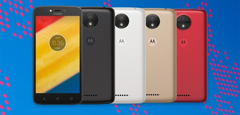 Android lenovo moto Moto C Motorola plus