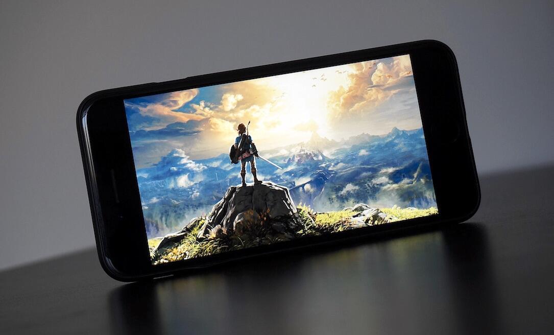 1 Android Apple Google iOS iphone Nintendo Smartphones Spiel the legend of zelda zelda
