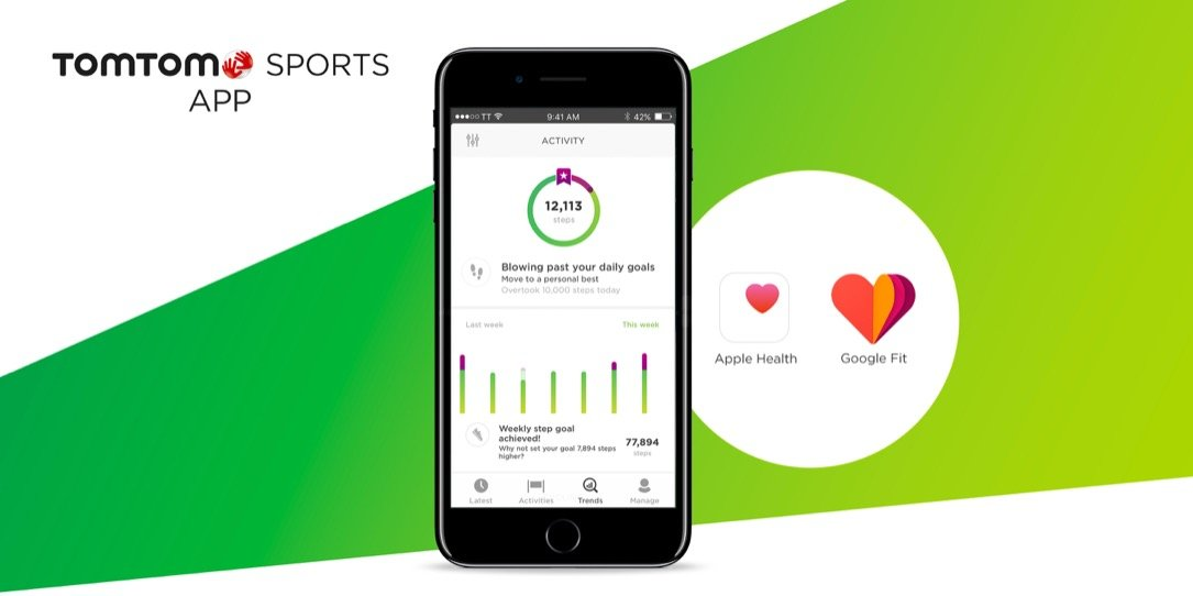 Android Apple fitness health iOS Sport TomTom