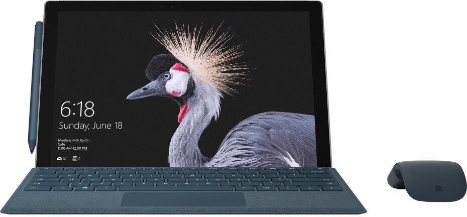1 2017 microsoft Pro surface Windows