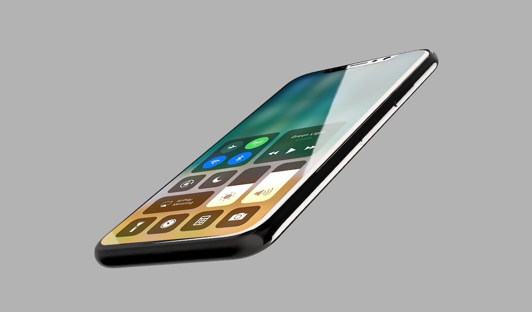 1 AMOLED Apple auflösung Display front iOS iphone iphone 8