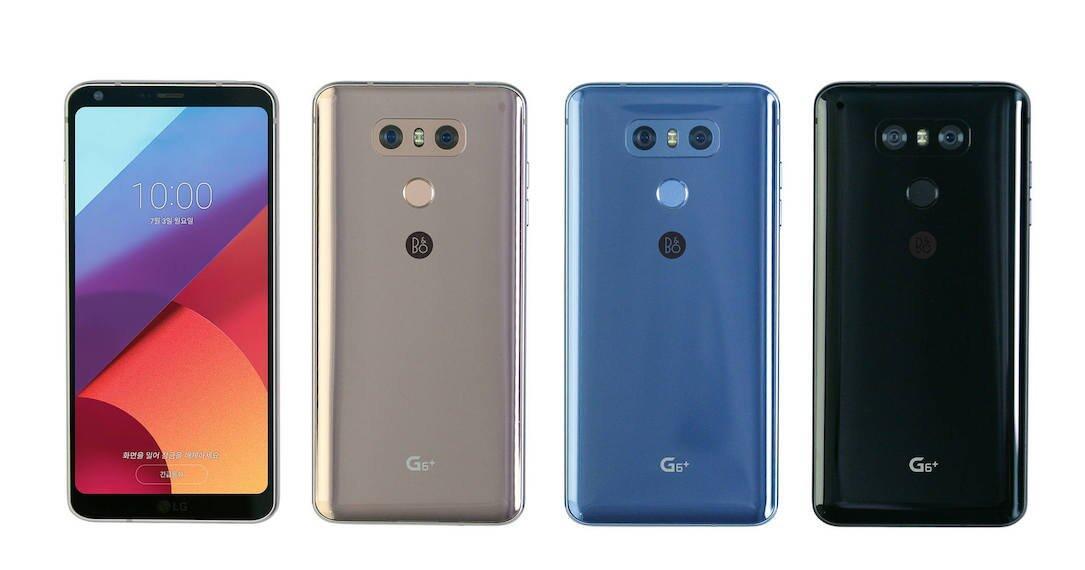 LG: G6+ offiziell vorgestellt