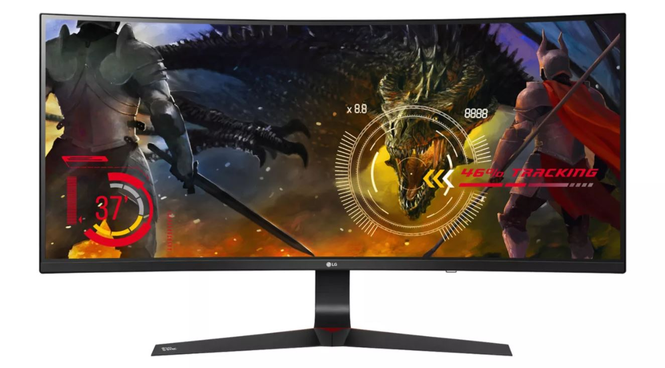 aff curved Display LG Monitor