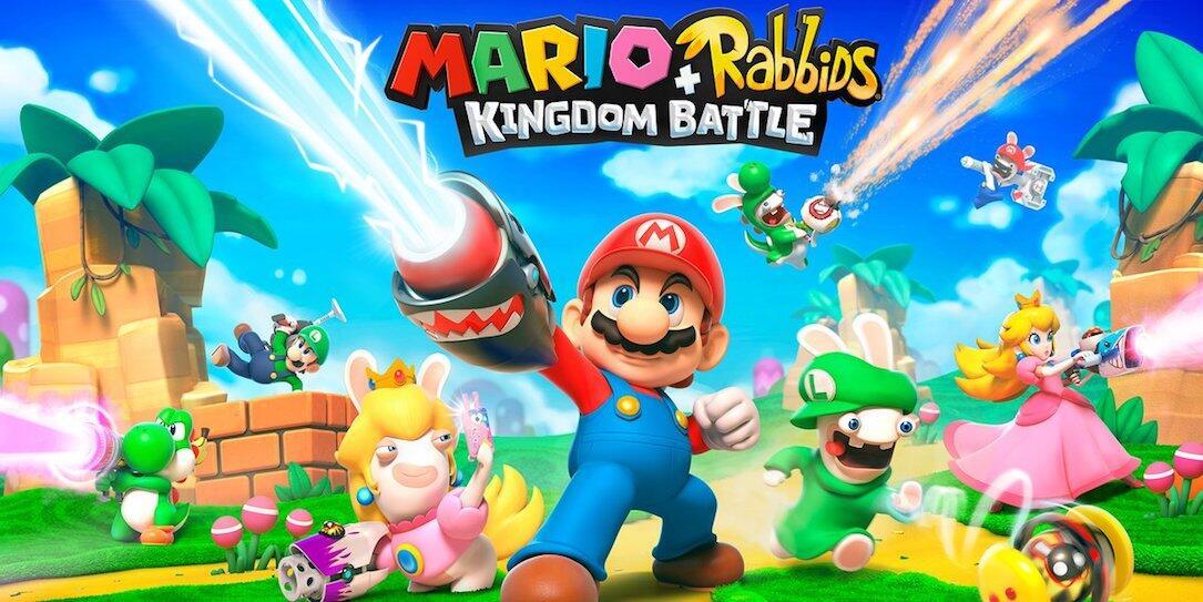 aff mario Nintendo rabbids Spiel Switch Video