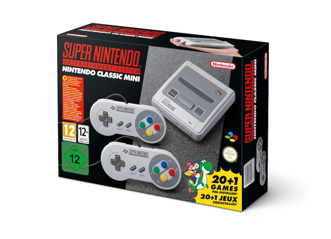aff classic kaufen konsole Mini Nintendo Retro snes wann