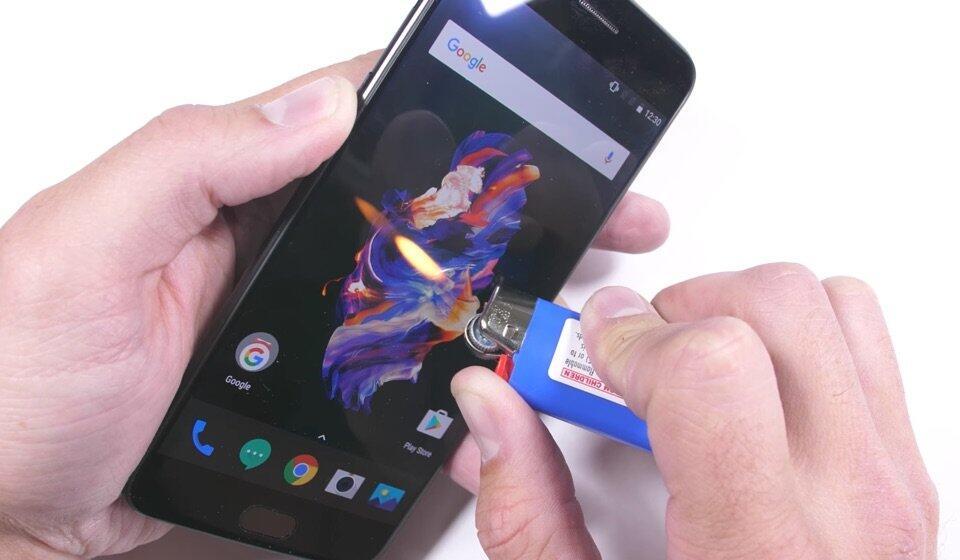 Android härtetest oneplus test