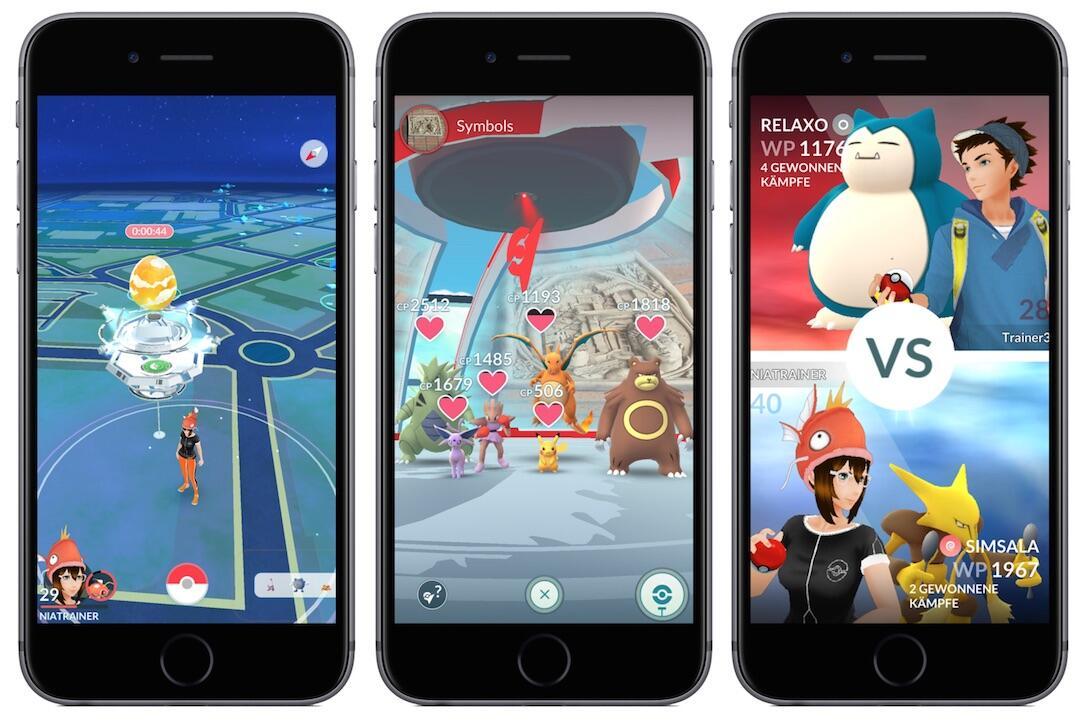1 Android Apple arena go iOS kampf orden pokemon raid