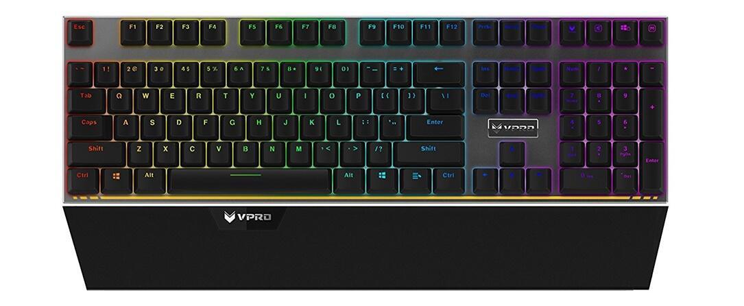rapoo vpro v720s mechanische tastatur mit rgb beleuchtung angek ndigt. Black Bedroom Furniture Sets. Home Design Ideas
