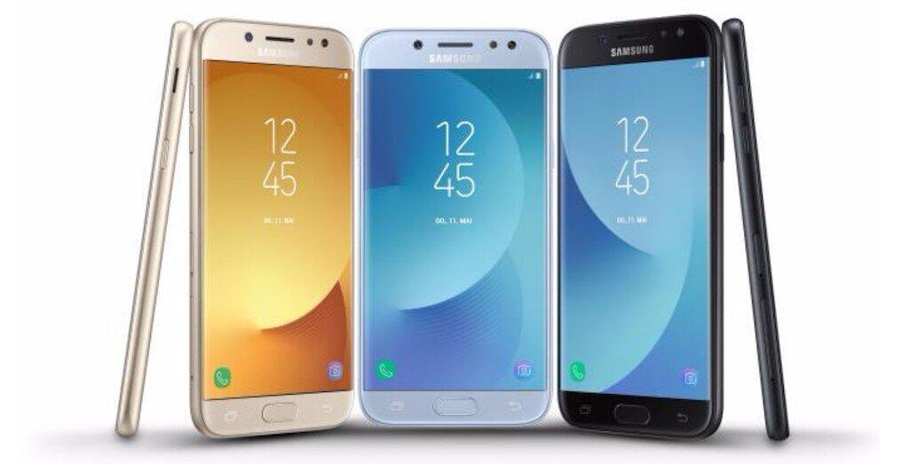 Android Galaxy J3 (2017) Galaxy J5 (2017) Galaxy J7 (2017) Samsung