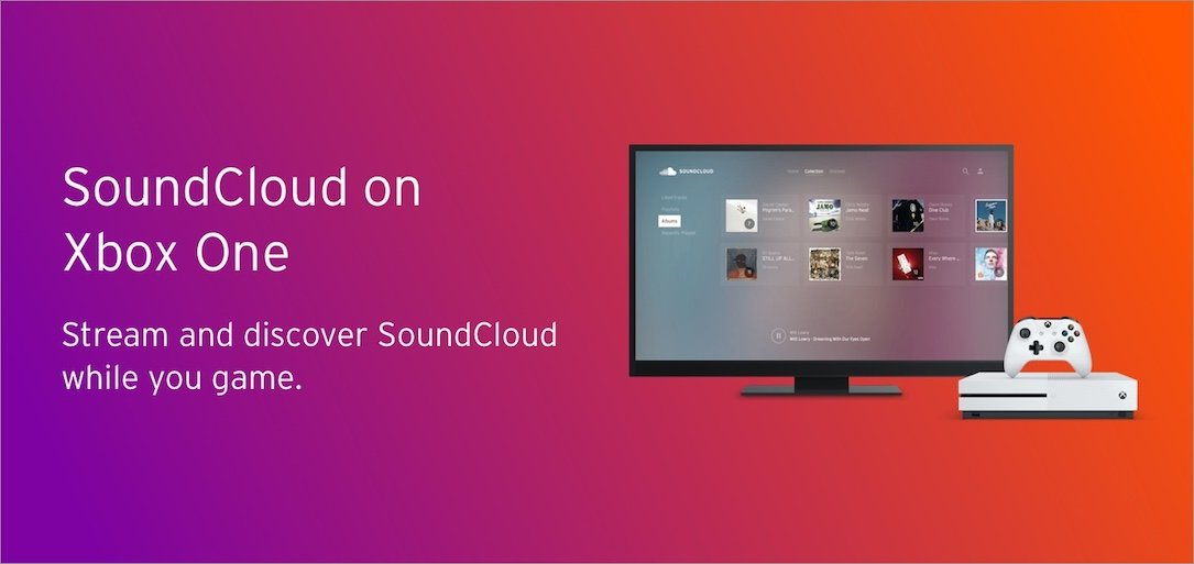 app soundcloud Windows xbox
