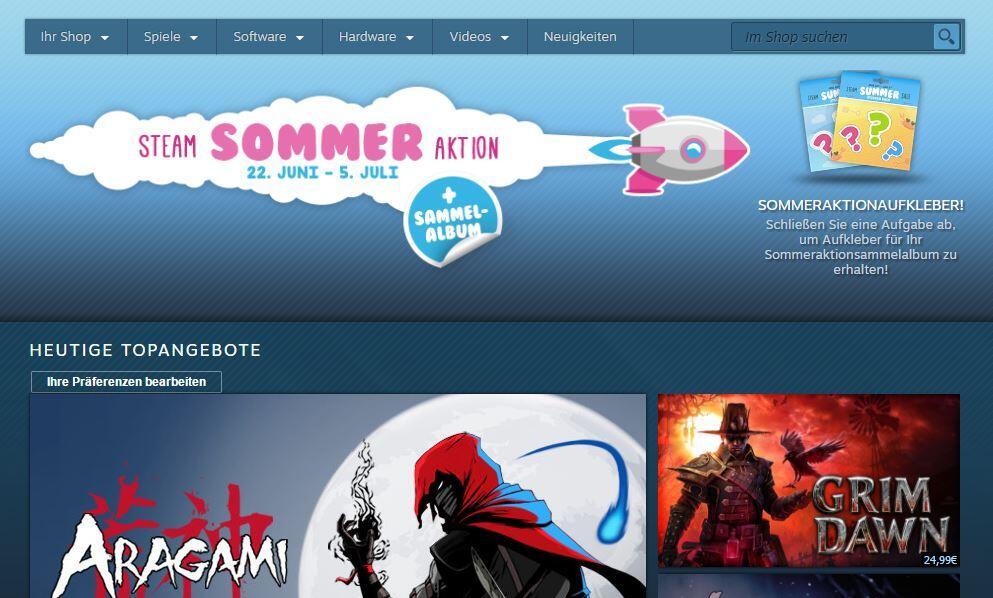 deal steam Steam Summer Sale