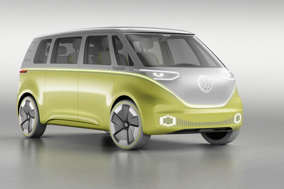 bulli bus elektrisch id buzz volkswagen VW